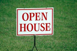 Realtor's Open House Sign